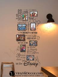 Pin by Polly Carpenter on pared bb in 2020   In this house we, Disney wall,  Photo collage