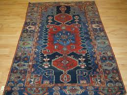 antique persian rug greater hamadan region unusual design wide border circa 1920