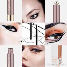 o brand liquid eyeliner pencil cool cat style black long lasting waterproof eye liner pen natural eye makeup cosmetic tool whole makeup best