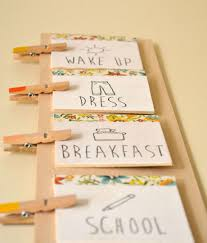 Diy Daily Routine Chart For Kids Routines Daily
