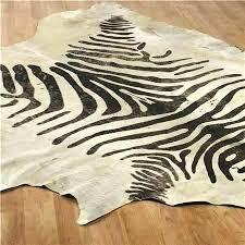 perfect faux fake animal rug black bear skin faux fur plush in remodel 15 to zebra r