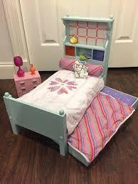 american girl doll s bedroom setup trundle set 1 american girl mckenna bedroom