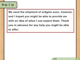 Letter Bussines The Best Way To Write And Format A Business Letter Wikihow