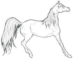 coloring book horse head running pages page the