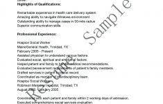 Hospice Social Worker Cover Letter Social Worker Cover Letter Hospital Work For Resume 47 Jmcaravans