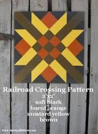Pinterest • The world's catalogue of ideas & Barn Quilt, Railroad Crossing Pattern Adamdwight.com