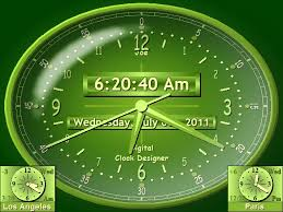 sharp world clock desktop time zone clock time zone converter
