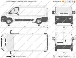 2017 ram promaster cargo van mwb 136 inch