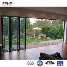 china latest design balcony aluminum glass folding door china aluminium doors windows aluminum door
