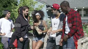 Stock Of Footage Young Setting People Gang Alcohol Drinking 10646896 Video In Urban