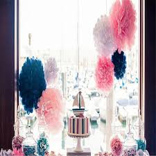 wedding decoration tissue paper flower 16 inch tissue paper pompoms whole chandelier party decoration birthday party decorations from