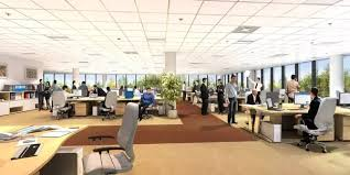 open office cubicles. Contemporary Open Open Plan For Offices Is Quite Popular These Days Need Less  Space Per Employee So Itu0027s Cost Effective Practically Every Employee In  And Office Cubicles