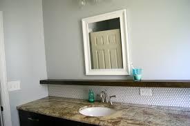 tips for installing a penny tile backsplash floating shelf remodelaholic bloglovin
