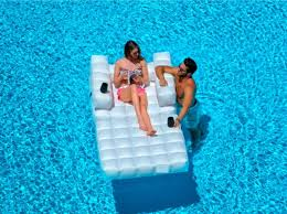 In pool furniture Mid Century 56003400cfloatingpoolfurniture Oasis Floating Pool Furniture Patio Direct Floating Oasis Inflatable Pool Furniture Couture Outdoor