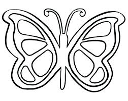Outline Of Butterfly Wuyedh