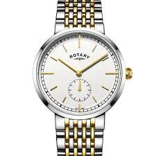 rotary men s two tone canterbury watch gb05061 02 rotary watches rotary men s two tone canterbury watch gb05061 02