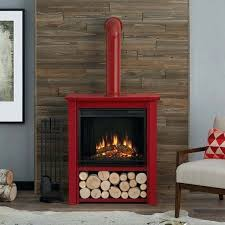 electric flame fireplace real flame electric fireplace red vonhaus electric fireplace stove heater with flame effect black