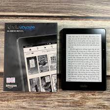 Máy Nhật Cũ] Máy Đọc Sách Kindle Voyage Code 0035