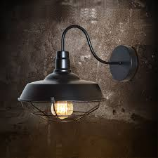 retro vintage industrial wall sconce light lamp iron