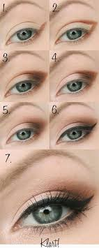 really lift and open up your eyes by dragging your shadow out into a cat eye shape too