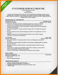 18+ Customer Service Resume Example | Richard Wood Sop