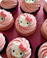 Hello Kitty Cupcakes Hellokitty Cupcakes Kitty 4th Bday In