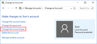 How To Make Another Account On Windows 10 5 Ways To Change Standard User To Administrator In Windows