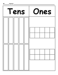 Tens And Ones Place Value Chart