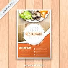 Brochures Templates Free Download Restaurant Brochure Template Flyer Templates Free Download Premium