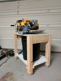 dewalt planer stand. new mobile planer stand with built in chip collection dewalt