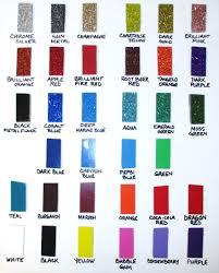 Fiberglass Color Chart Acme Car Compay