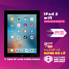 Nơi bán Máy tính bảng Apple IPAD 2 -16GB bản WIFI hoặc 3G/Wifi - CPU APPLE  A5 1G/Hz Ram 512MB TẶNG CỦ VÀ CÁP SẠC phù hợp cho sinh vien, người lớn,