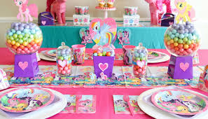 the table my little pony birthday party content 2