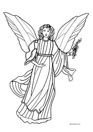 Coloriages De No L La Cr Che Marie Jesus Des Anges La Colombe