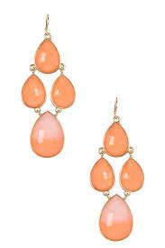 image of olivia welles jayna stone chandelier earrings