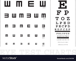 Vision Chart For Driver S License 45 Unmistakable Eye Test Chart Images