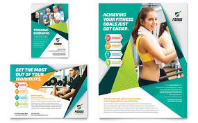 Ad Templates Fitness Trainer Flyer Ad Template Design