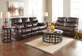Reclining Living Room Furniture Sets Buy Ashley Furniture Pranas Brindle Reclining Living Room Set