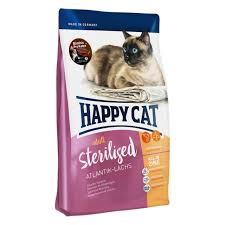 <b>Сухой корм</b> для кошек <b>Happy Cat</b>, Sterilised c лососем, 1.4 кг ...