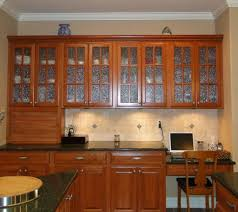 Glass Front Kitchen Cabinets Kitchen Design Outstanding Textured Glass Doors Of Wall Mount