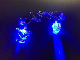 Light Up Hanukkah Necklace Light Up Menorah Necklaces