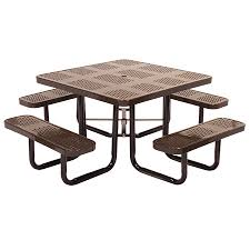 outdoor metal picnic tables park tables bar restaurant furniture tables chairs and bar stools