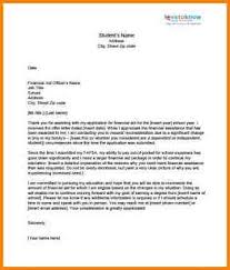 financial aid appeal letter example of an appeal letter 7 financial aid appeal letter quote templates