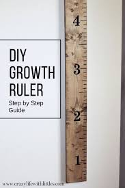 Diy Height Chart Diy Growth Ruler Diy Woodworking For Kids Woodworking
