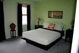 adorable design ideas for brown and green bedroom splendid design ideas using black loose curtains