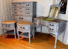 antique distressed furniture. French Distressed Furniture. Antique Provincial Bedroom Set Vintage Grey Tall Dresser Furniture