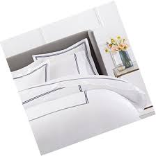 pinzon 400 thread count egyptian cotton sateen hotel stitch duvet cover