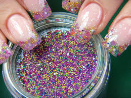 Nail Art Designs - UÑAS con caviar encapsulado :NAIL ART DESIGNS 2013