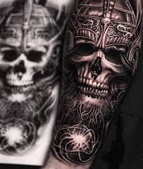 скандинавские образы в татуировках Mumia