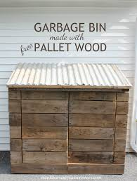 model woodworking plans garbage can storage lastest shed outdoor living today oscar trash rubbermaid diy rack